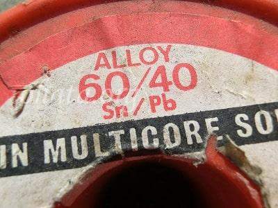 半田(錫60%,鉛40%)買取 スクラップ