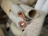 空調銅配管(エアコンパイプ)_皮あり買取 スクラップ