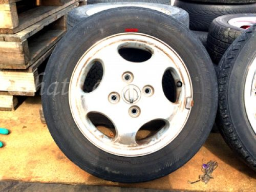 タイヤ付アルミホイール小(リム径15インチ未満)買取 スクラップ